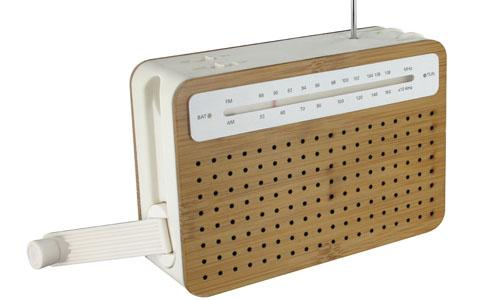 news design safe radio bamboo enquire