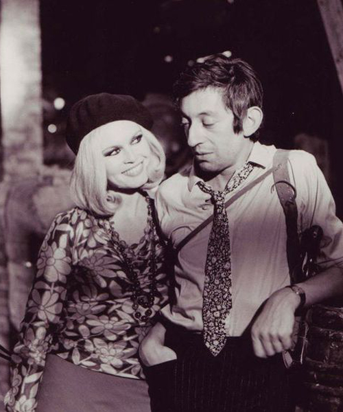 Serge Gainsbourg e Brigitte Bardot_BONNY AND CLYDE